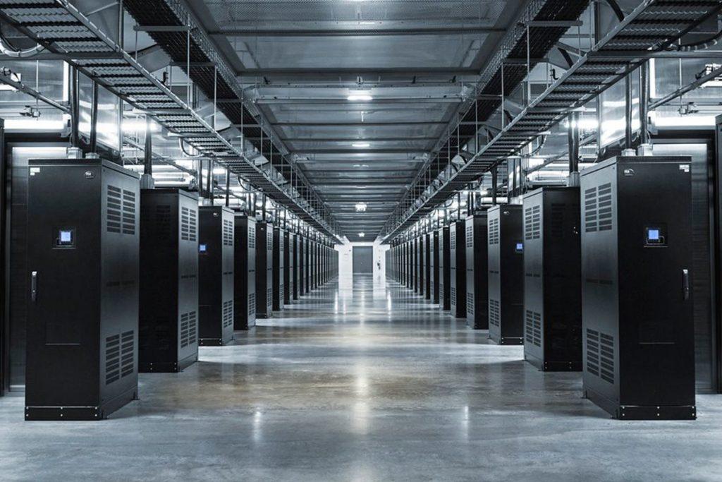 Industrial Server Room